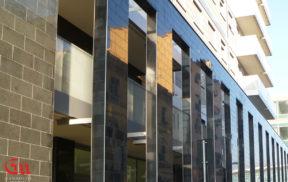 Gandolfo Marmi - Rivestimento facciata hotel